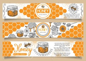 emballage pot de miel